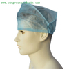 Machine made nurse cap with elastic